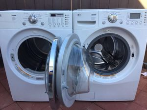 Lg Tromm Washer Dryer Excellent Conditions For Sale In Phoenix Az Washer Washer And Dryer Things To Sell