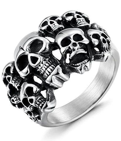 41 of The Best Skull Rings for Men in 2020 - InnovatoDesign