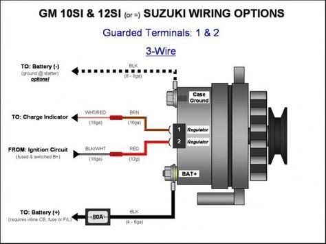 Alternator Wiring Guide Alternator Car Alternator Denso Alternator