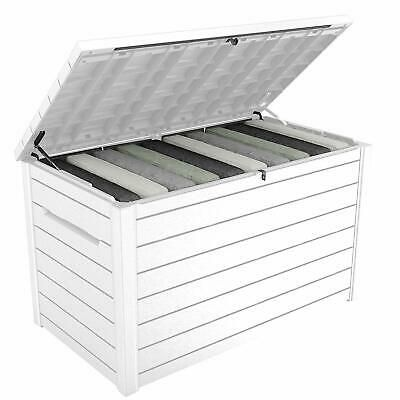 Perfect For Garden Or Deck Storage 230 Gallon Outdoor Storage Box With Extra Large Interior B Outdoor Storage Boxes Deck Box Storage Outdoor Deck Storage Box