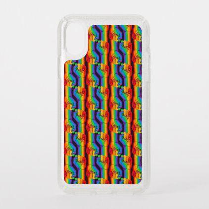 Rainbow Specks iPhone Case