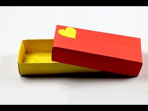 Origami Box out of A4 Paper | Easy and Simple Origami Paper Craft ... | 355x473