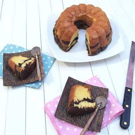 Resep Marmer Cake Hits Ala Law Thomaz Oleh Stephanie Tan Resep Makanan Resep Aneka Kue