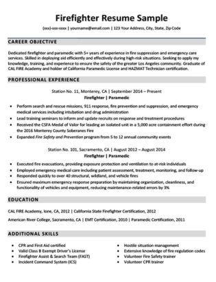 Firefighter Resume Cover Letters Magdalene Project Firefighter Resume Cover Letter For Resume Job Resume Examples