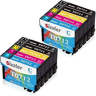 Sizzler T0715 Xl Reemplazo Para Epson T0711 T0712 T0713 T0714 Cartuchos De Tinta Compatibles Con Epson Stylus Sx218 Sx200 Sx205 Cartuchos De Tinta Tinta Stylus