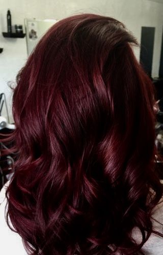Burgundy Wine Hair Color Pictures