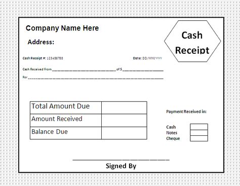 Cheque Receipt Template House Rent Receipt Template  Templates  Pinterest  Receipt .
