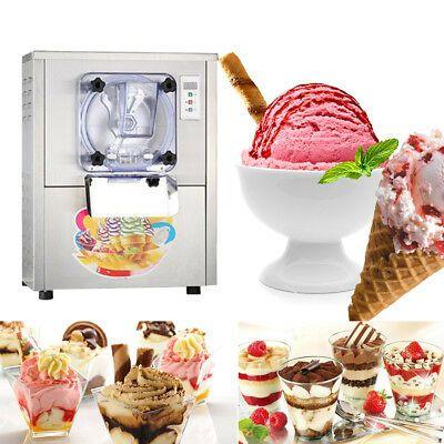 Ad Ebay Commercial Hard Ice Cream Machine 20l H Ice Cream Lcd