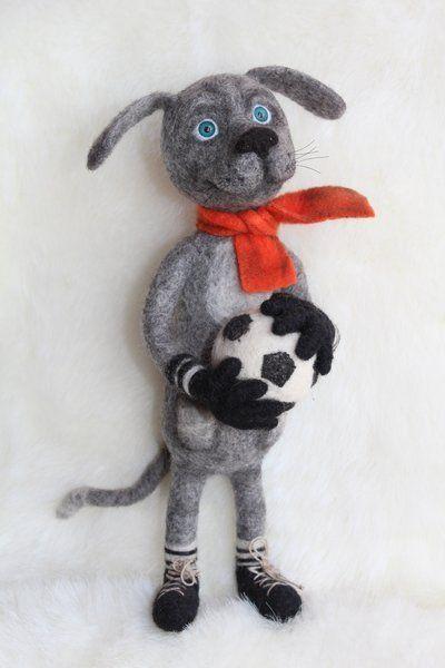 Yorkshire terrier Teddy OOAK handmade art Doll animal kawaii plush Toys handmade Realistik toy Stuffed Souvenir Gift Animals and plush