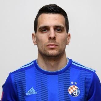 Komnen Andric Gnk Dinamo Zagreb Zagreb Red Card