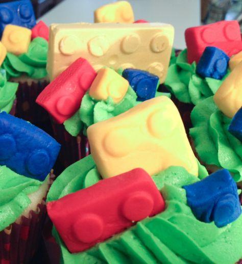 LEGO cupcakes & more parties ideas!
