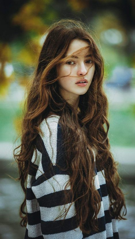 Girls Wallpapers Page 9 Of 43 Iphone Wallpapers Girl With Brown Hair Long Hair Girl Brown Hair Female