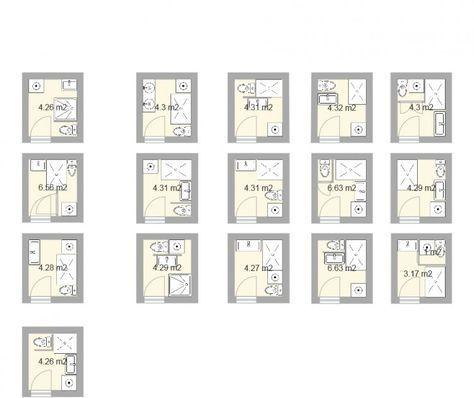 Plan Pour Salle D Eau Et Petite Salle De Bains De 2 5m Bien