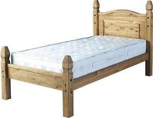 Image Result For Mexican Pine Wood Beds No Footboard Single Bed Single Bed Frame Pine Beds