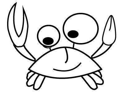 Coloriage Crabe Coloriage A Imprimer Et A Colorier Coloriage