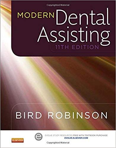 Test Bank For Modern Dental Assisting 11th Edition By Doni L Bird