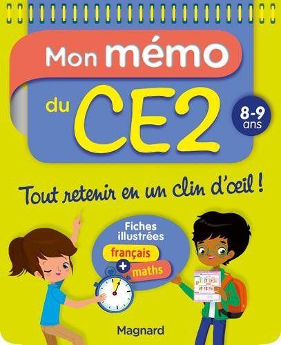 Mon Memo Du Ce2 8 9 Ans Pdf Gratuit Telecharger Epub Gratuit