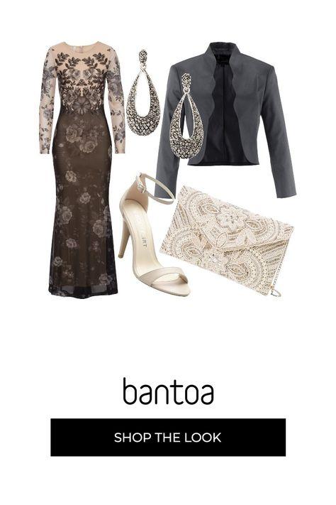 Vestiti Eleganti Valentino.Outfit Total Bonprix Ispirato Allo Stile Valentino Vestito Lungo