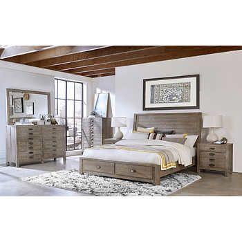 Dandridge 6 Piece Cal King Storage Bedroom Set King Bedroom Sets King Size Bedroom Sets Bedroom Set