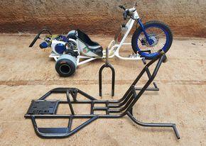 E Uma Empresa Especializada Na Fabricacao De Drift Trike Motorizado Todos Equipados Com Motores 7 0 Hp Ori Drift Trike Frame Drift Trike Drift Trike Motorized