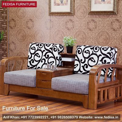 Wooden Sofa Set: Simple Wooden Sofa Set Designs With Price, Buy Sofa Set Online | Fedisa | Wooden Sofa Set, Wooden Sofa Set Designs, Sofa Set