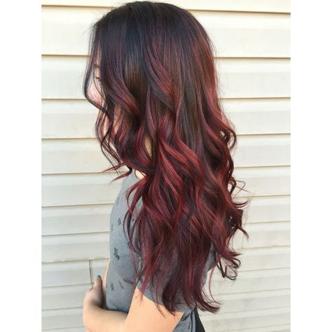 Balayage Wig Lave Front Human Hair Wave Off Black #1B Highlighted With Red Wine #99J(Wave#1B/99J)