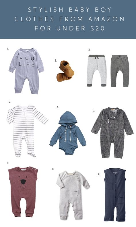 By far the most lovely seeking newborn baby boy clothes, look up all the necessities like pajamas, body matches, bibs, and more. Kids Fashion Blog, Toddler Boy Fashion, Toddler Boy Outfits, Kids Outfits, Jean Outfits, Toddler Girl, Newborn Outfits, Baby Boy Outfits, Amazon Baby Clothes