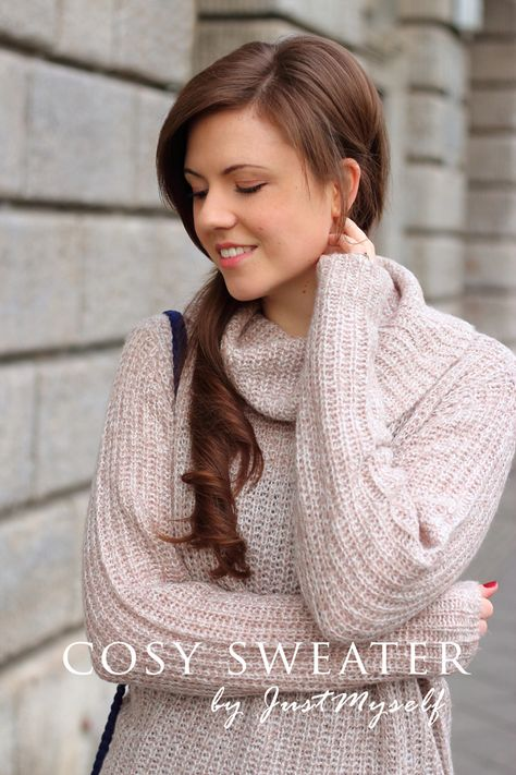 Cosy sweater for Christmas | Sweaters, Winter outfits, Cozy