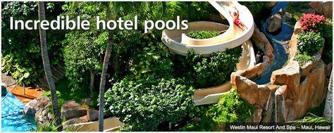Incredible hotel pools by Trip Advisor