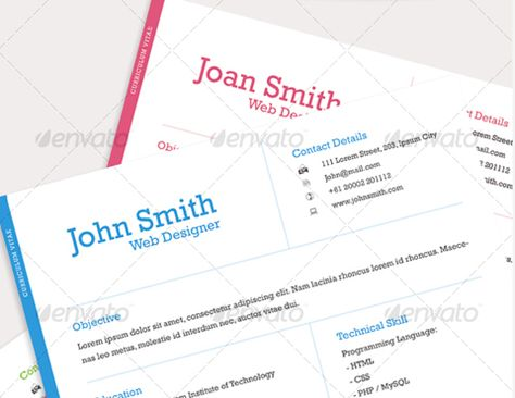 professional-one-page-resume Cool Creative CVu0027s Pinterest - concise resume template