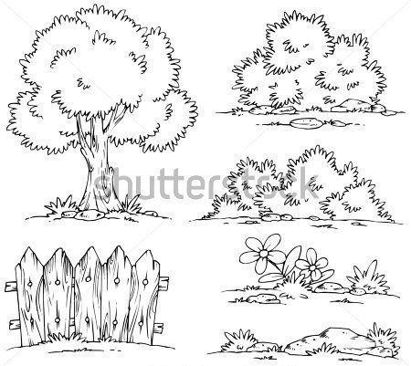 16+ Dibujos para colorear de arbustos inspirations