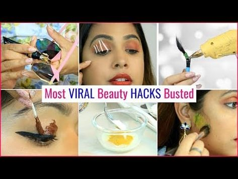 Most VIRAL Beauty HACKS Busted