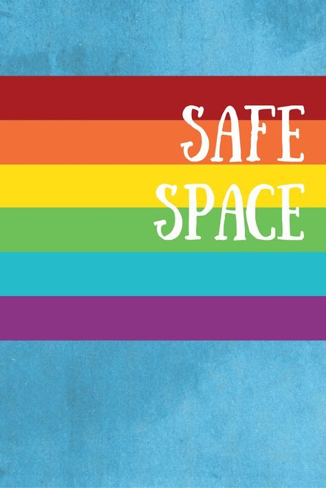 Safe Space Poster Supporting Lgbtq Students Safe Schools Student Posters Pride Quotes