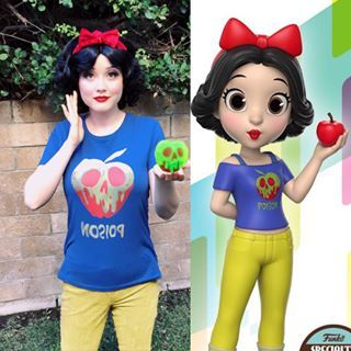 Ralph Breaks The Internet Comfy Princess Snow White Cosplay Funko Rock Candy Disneytwincess Disney Princess Costumes Snow White Cosplay Disney Cosplay