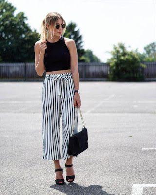Outfits Con Pantalon De Rayas Tumblr Casuales Que No Conoces Fashion Clothes Women Fashion Minimalist Outfit