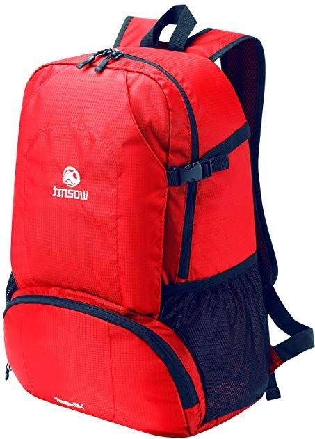 NEW Lightweight Foldable Mens Womens Backpack 35L Ultralight Outdoors Travel Bag
