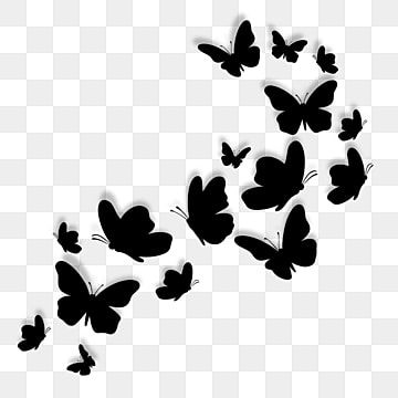Asas De Borboleta Preta Silhueta Decoracao Borboleta Asa Preto Imagem Png E Vetor Para Download Gratuito Butterfly Wings Black Butterfly Butterfly Illustration