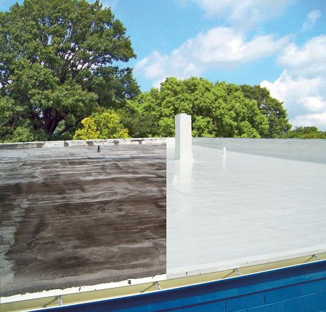Gacoflex S20 Gaco Roof Coating Roof Restoration Image House