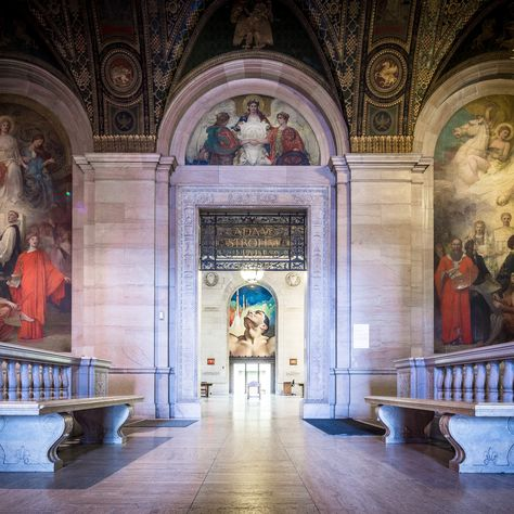The beautiful Detroit Main Public Library. 50 Actually Great Free Things to Do in Detroit