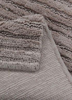 Tom Tailor Badezimmerteppich Cotton Stripes Sand Nie Wieder Kalte Fusse Beim Zahneputzen Oder Nach Der Badezimmerteppich Teppich Badteppich