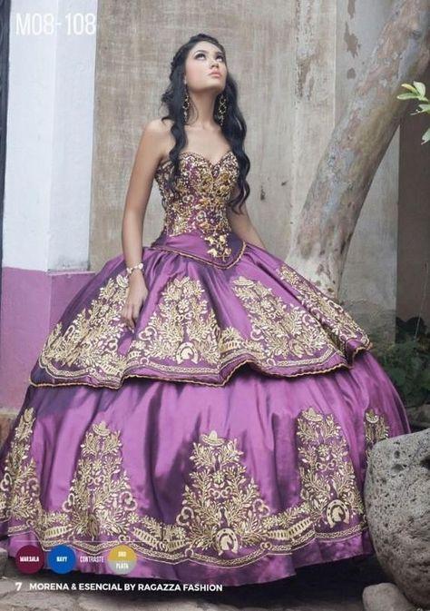 43ef86af62a A-Line Charro Quinceanera Dress by Ragazza Fashion Style M08-108 - ABC  Fashion