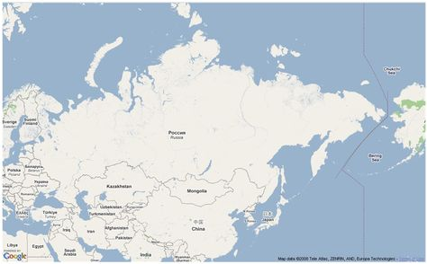 Example Image: Asia (Northern) | Challenge A | Asia, Asia map ...