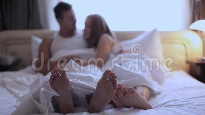 Pictures Of Man And Woman In Bed