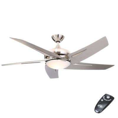 Hampton Bay Ceiling Fans With Lights Ceiling Fans The Home Depot Brushed Nickel Ceiling Fan Ceiling Fan Bronze Ceiling Fan
