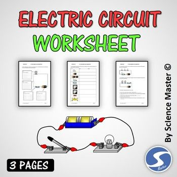 Electric Circuits Worksheet Electric Circuit Simple Electric Circuit Circuit
