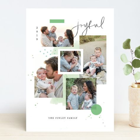 Holiday Mood Board Holiday Photo Cards by Kristen Smith   Minted