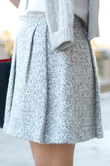 Club Monaco Ottalina Tweed Skirt