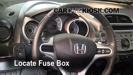 Interior Fuse Box Location: 2009-2013 Honda Fit 2010 Honda Fit Sport 1.5L 4  Cyl. | Honda fit, Honda fit sport, Homda fitPinterest