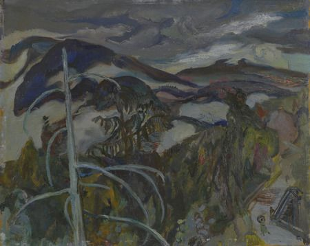 Weather, Lynn Valley, B.C. by Varley, Frederick Horsman