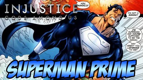Superman Prime Skin Mod - Injustice Ultimate Edition PC